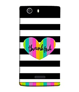 PrintVisa Designer Back Case Cover for Micromax Canvas Nitro 2 E311 (colorful way to say thanks)