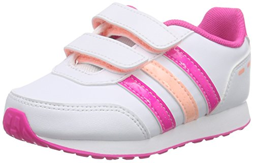adidas Vs Switch Inf, Chaussures pour Premiers Pas Fille Multicolore - mehrfarbig (Ftwwht/Ltflor/Shopin)