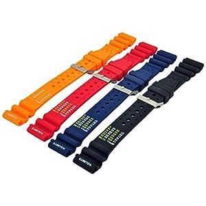 Kautschuk Uhrenarmband Passend Citizen Promaster Armband N.D.Limits Uhrband