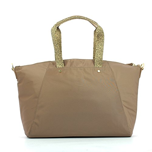 Borbonese 934254138 Shopper Donna nero UNICA GRIS/NAT