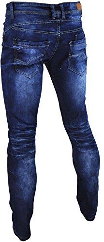 Jaylvis Herren Jeanshose * One Size Blau