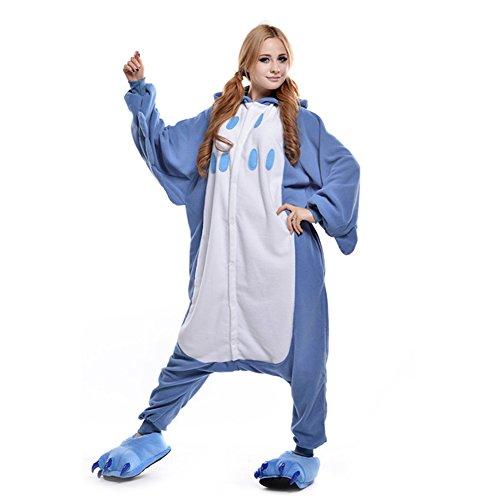 LPATTERN Unisex-Erwachsene Cosplay Pyjamas Onesie  Tier Kostüm Schlafanzug Jumpsuit für Halloween Karneval, Eule, Small (Korpergröße (Eule Kostüm Halloween)