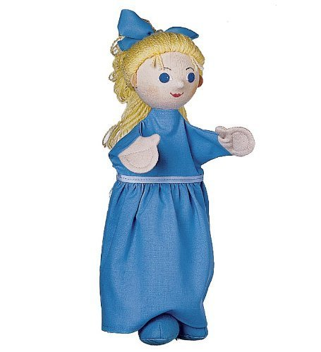 Handcrafted Peter Pan Costumed Puppet, In Wendy