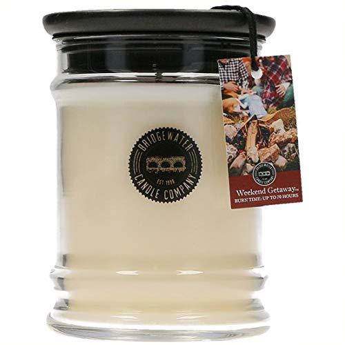 Home Society Bridgewater Duftkerze im Glas mit Deckel \'Weekend Getaway\' Lorbeer Tanne Pinie Nelkenduft Weihnachten Kerze Aromakerze Duft