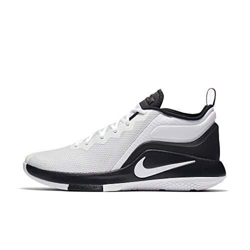 Nike Zapatillas Lebron Witness Ii White Black, Chaussures de Fitness Mixte Adulte Blanc-Noir