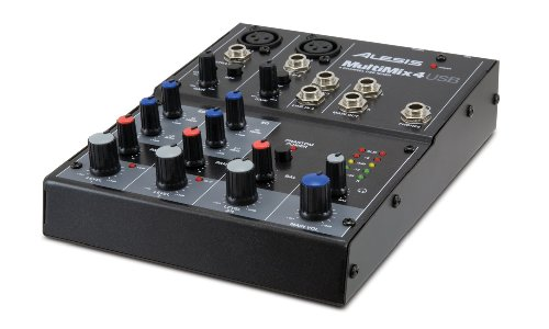 Alesis 4-channel Desktop Mixer Multimix 4usb (japan import) (Desktop Mixer)