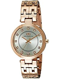 Gio Collection Analog White Dial Women's Watch - G2016-55