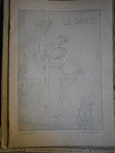 La Danse. Numéro spécial de la revue L'Illustration. Numéro de Noël 1894. Editions l'Illustration. 1894. Partitions. Broché. 24 pages. (Partition, Danse, Musique)