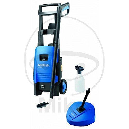 Nilfisk C 130.2-8 PAD Vertical Eléctrico 520, 350l/h 1800W Negro, Azul Limpiadora de alta presión o Hidrolimpiadora - Limpiador de alta presión (Vertical, Eléctrico, 8 m, 5 m, Negro, Azul, Aluminio)