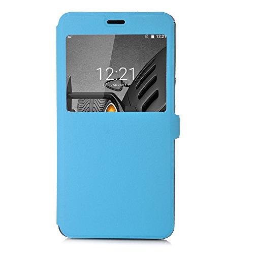 ELTD DOOGEE X9 Pro Case, Flip Cover Case / Hülle / Tasche/ Schutzhülle Für DOOGEE X9 Pro 5.5 Zoll, Blau