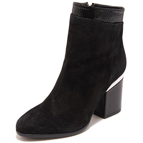 2692G tronchetto donna nero HOGAN H238 ZIP INTERNA T PELLE scarpa stivale boots Nero