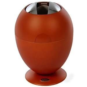 TecTake Design Poubelle automatique Panier 6L orange