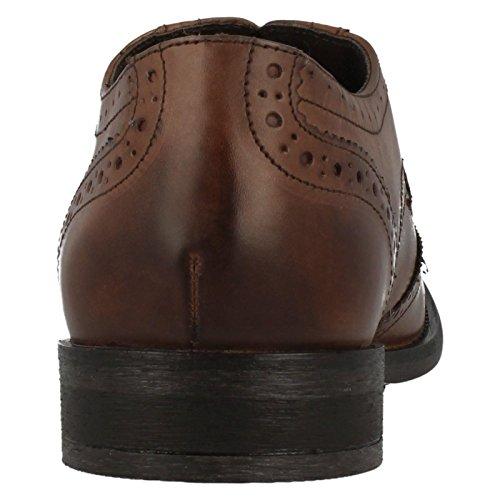 Per Rovere London Chêne Pour Ciré Di Mto Londres Cerato Marrone Base Francesina Richelieu Marron Mto Base Chaussures q0URwSwn6W