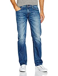 MUSTANG Herren Jeanshose Oregon Straight, Blau (Light Scratched Used 583), W29/L32