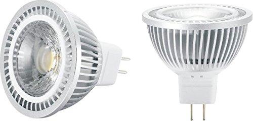 ml576-12V MR16AC/DC 5W COB High Output LED Cool White 4000K 440Lumen (nicht dimmbar) - Cool White High Output