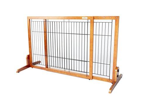 Simply Shield M | Hunde-Barriere | Hunde-Absperrgitter | Verstellbare Breite (M)