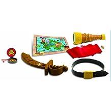 Jake y los piratas de Nunca Jamás - Baúl con accesorios, 28 x 20 cm (IMC Toys 260153)