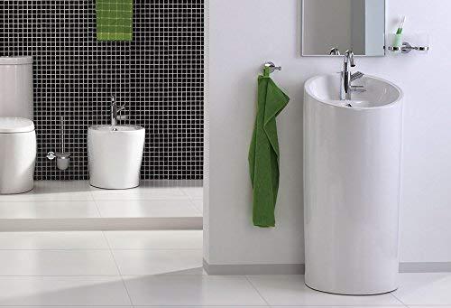 Lux-aqua Waschtisch Keramik Stand Waschbecken 40129