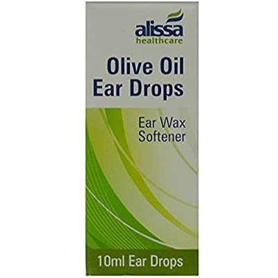 Olive Oil Ear Wax Drops Softens Removes Wax 10ml