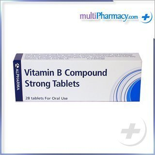 Vitamin B Compound Strong Tablets by Vitamin B