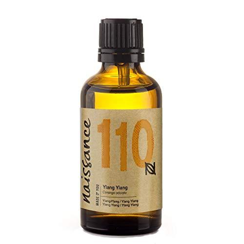 Naissance Huile essentielle d'Ylang-ylang (n° 110) - 50ml - 100% pure, naturelle et distillée à la vapeur – végan et non testée sur les animaux