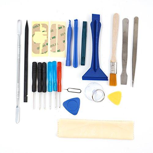 Preisvergleich Produktbild 22 stück Reparatur Öffnungs Werkzeug set Schraubendreher kit für iPhone, iPad, NINTENDO, HTC, Samsung S2 , S3, S4, S5, S6, Nokia, Huawei, LG, Motorola
