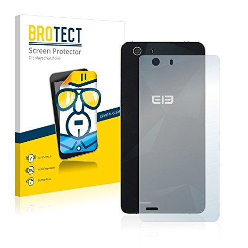 2X BROTECT HD Clear Bildschirmschutz Schutzfolie für Elephone S2 Plus (Rückseite) (kristallklar, extrem Kratzfest, schmutzabweisend)