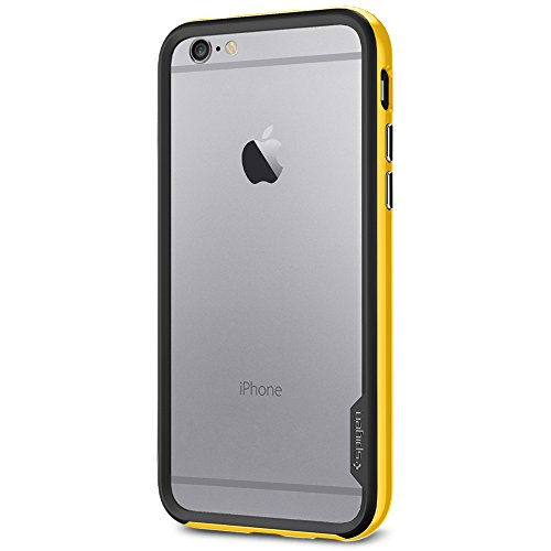 Spigen SGP11027 Neo Hybrid EX Series Case für Apple iPhone 6 reventon gelb (Hybrid Series 6 Iphone Spigen Neo)