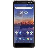 Nokia 3.1 Smartphone Débloqué LTE (Ecran : 5,2 pouces - 16 Go - Double Nano-SIM - Android) Bleu