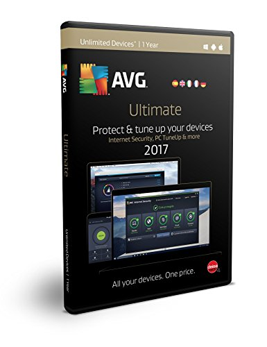 AVG Ultimate 2017 | Dispositivos Ilimitados | 1 Año