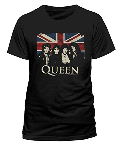 Queen - Camiseta de Tirantes - Hombre Turquesa L