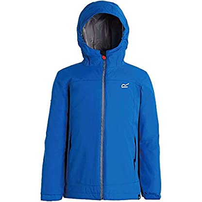 Regatta Children's Hurdle Ii Waterproof Insulated Hooded Jacket 6