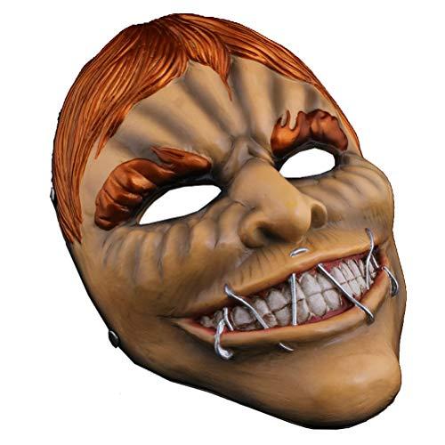 Halloween Kostüm Maske Party Spukhaus Teufel Gesicht, Zahltag ()