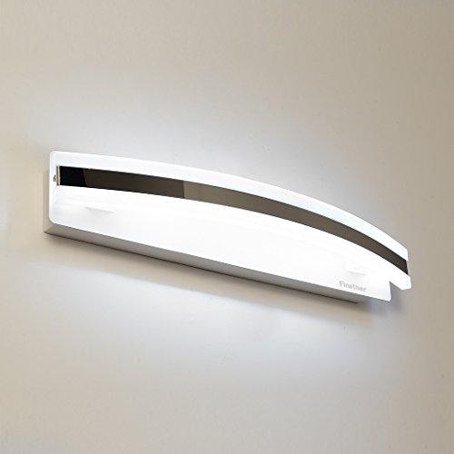 Finether-Lámpara del Espejo del Baño (8W, Luz Blanco,Luz Brillante, Luz Cómoda)