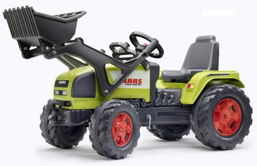 Falk–880dc–Fahrrad Und Fahrzeug für Kinder–Traktor Claas Ares + Schaufel GM