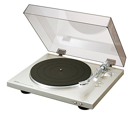 Denon DP-300F - Platine Vinyl avec pré-amplificateur RIAA - argent