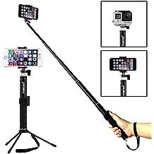 Foneso Selfie Stick Monopie con control remoto para Smartphones.Negro