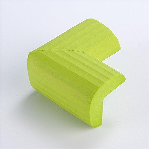 SJHO Baby Crash Corner - Ecke und Kantenschutz - 7 Farben - 20 Stück + Klebeband,Green