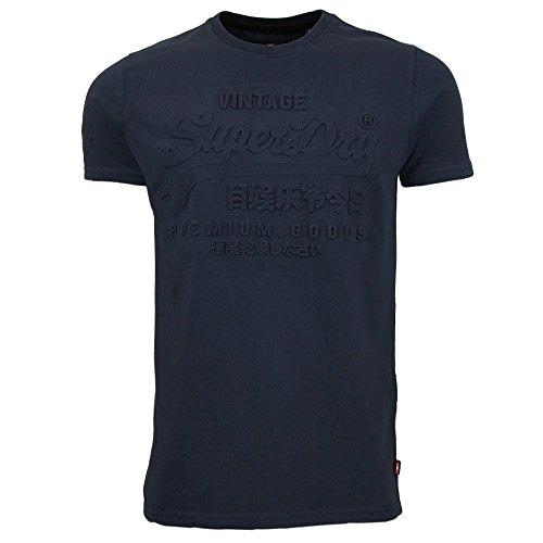 Superdry -  T-shirt - Uomo Navy