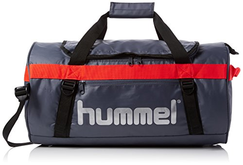 Hummel Tech Sports Bag Tasche, Ombre Blue/Nasturtium, 60 x 27 x 34 cm