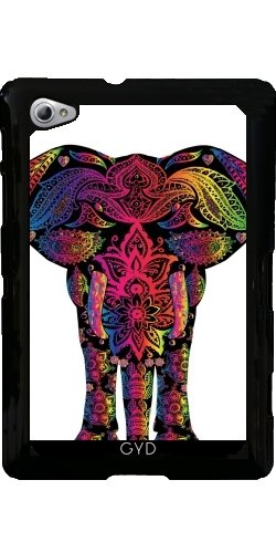 case-for-samsung-galaxy-tab-p6800-colorful-elephant-mammal-style-by-wonderfuldreampicture