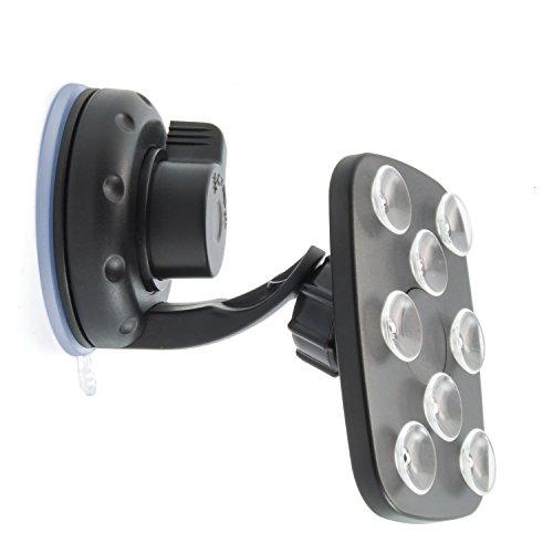 Handyhalterung KFZ multifunktional für alle Geräte und Modelle mit Saugnäpfen ink. Klick-System für besonders festen Halt -