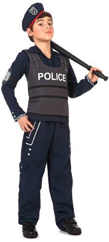 LIBROLANDIA - DISFRAZ DE POLICIA PARA NIñO  TALLA 7 - 9 AñOS (12198)