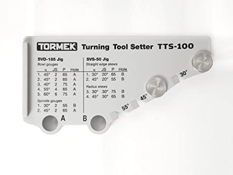 Outil De Tournage - Tormek Positionneur Pour Outils De Tournage Tts-100