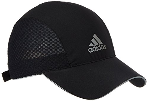 adidas Herren Cap Running Climacool, Black/Reflective Silver, OSFM, AA5964 (Adidas Running-cap)