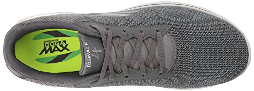 Skechers Go Walk 4, Baskets Basses Homme Charcoal