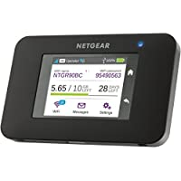 NETGEAR AC790-100EUS Aircard Wi-Fi Mobile Broadband Hotspot with Super Fast 4G+ LTE, Portable Car Wi-Fi Unlocked (Built in Charging for your Smart Device and SMS Messaging)