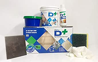 DFIX DF 1010 WHITE 2 PART EPOXY GROUT 1 KG