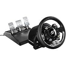Thrustmaster T-GT Volant Gainé de Cuir, sous Licences Officielles PS4 et Gran Turismo, Compatible PC
