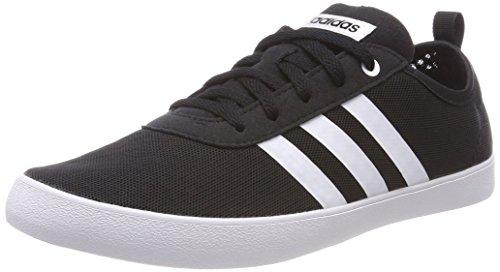 Adidas Qt Vulc 2.0 W, Zapatillas de Deporte para Mujer, Negro (Negbas/Ftwbla/Negbas 000), 38 2/3 EU adidas